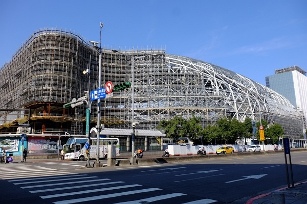 Construction on Taipei Dome close to resuming.