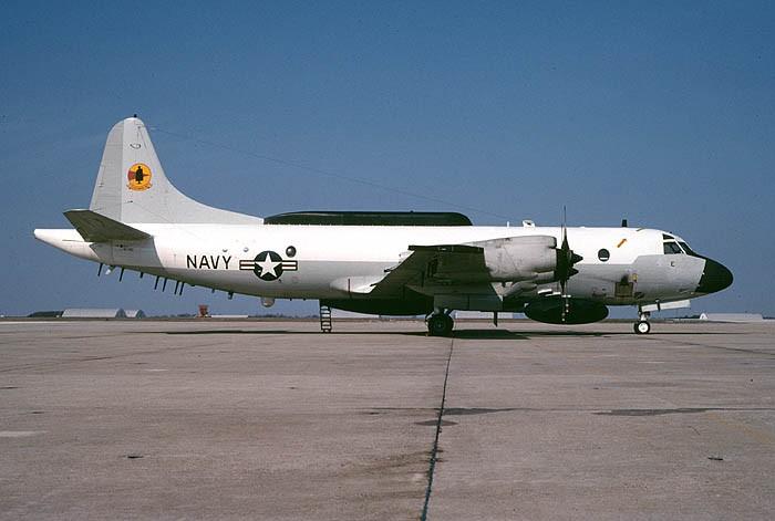 An EP-3E reconnaissance aircraft (photo by SDASM Archives)