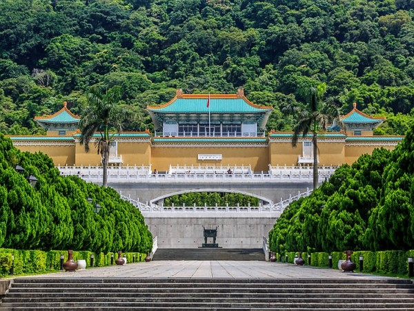 National Palace Museum limits visitors to 100 at a time.
