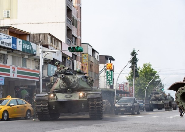M60A3 tank in Yilan. (MNA photo)