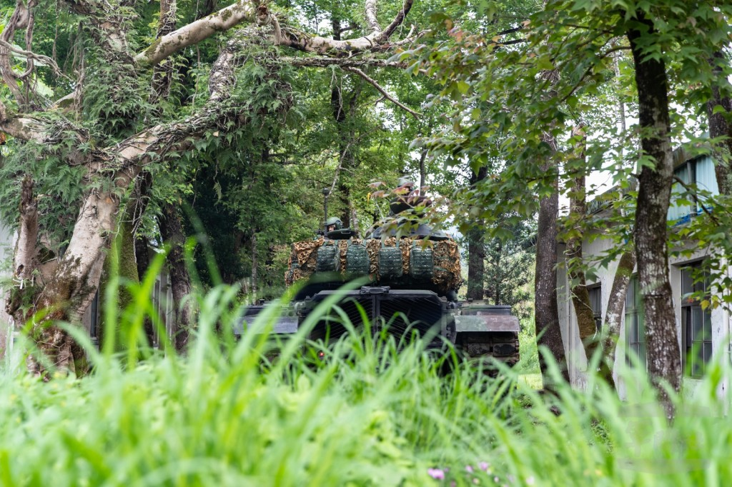 Tanks spotted in NE Taiwan as tensions with China rise