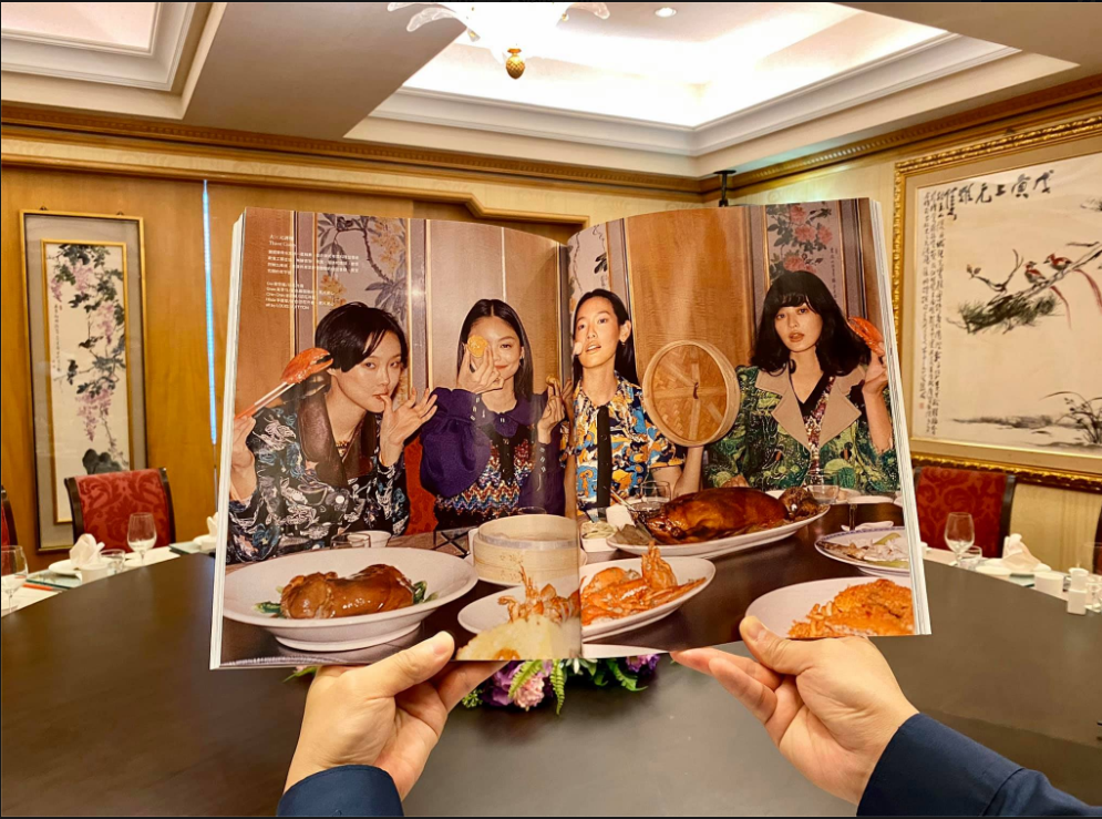 Vogue Taiwan recently featured the Three Coins restaurant's 50th anniversary (screengrab from Three Coins Facebook page)... </p> <p><a href=
