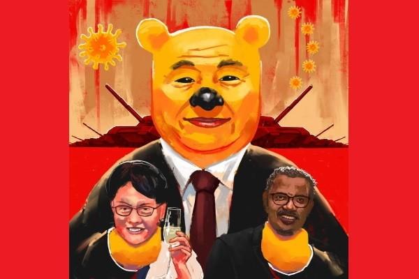 Portrait of Xi Jinping. (Jason Mann painting)