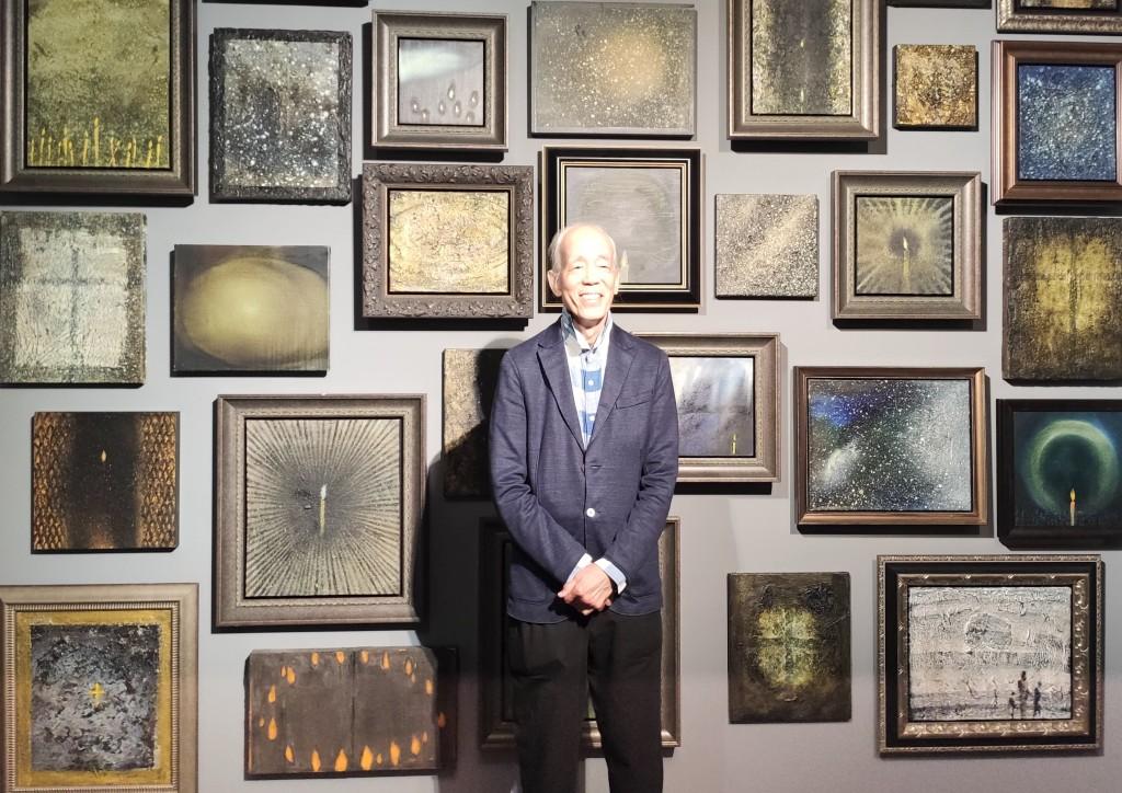 抽象藝術家江賢二(圖)回顧展將於北美館登場(圖/台灣英文新聞Lyla Liu)