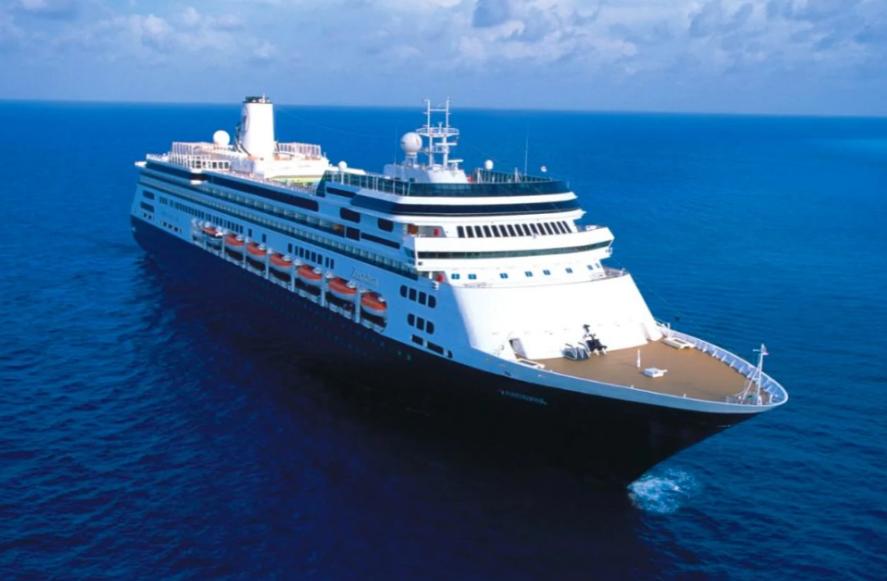 「桑達姆號」郵輪目前已有4名年長乘客病故(圖取自荷美航運公司網頁hollandamerica.com)