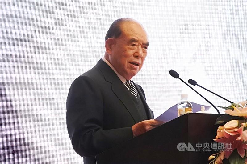 前行政院長郝柏村(圖) 30日下午在三軍總醫院去世,享嵩壽102歲。(中央社檔案照片)