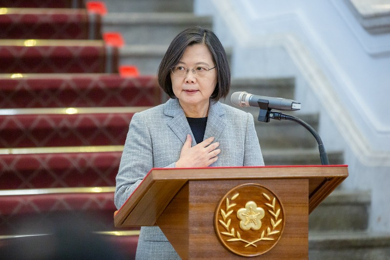 President Tsai Ing-wen(Presidential Office photo)