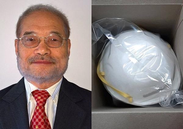 Dr. Peter Tsai, inventor of N95 respirator masks.
