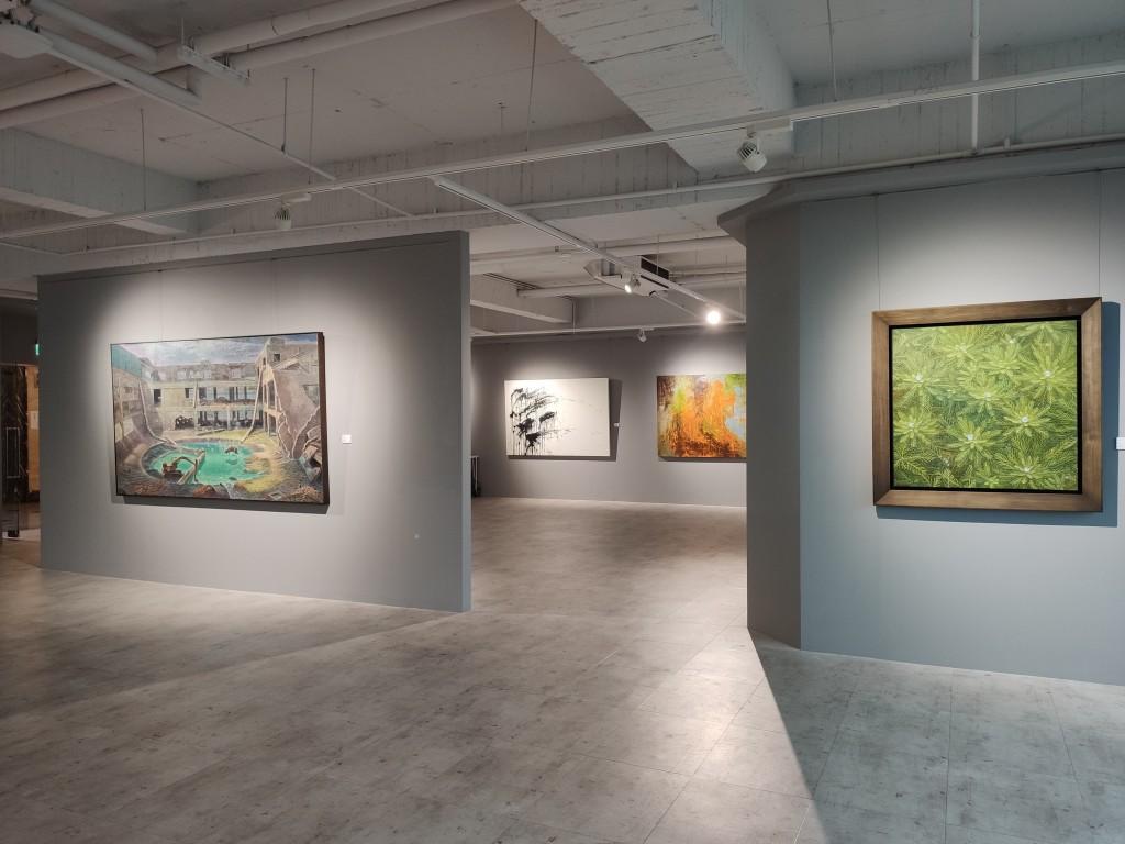 台北宛儒畫廊推出最新展覽「藝避所」(圖/台灣英文新聞Lyla Liu)