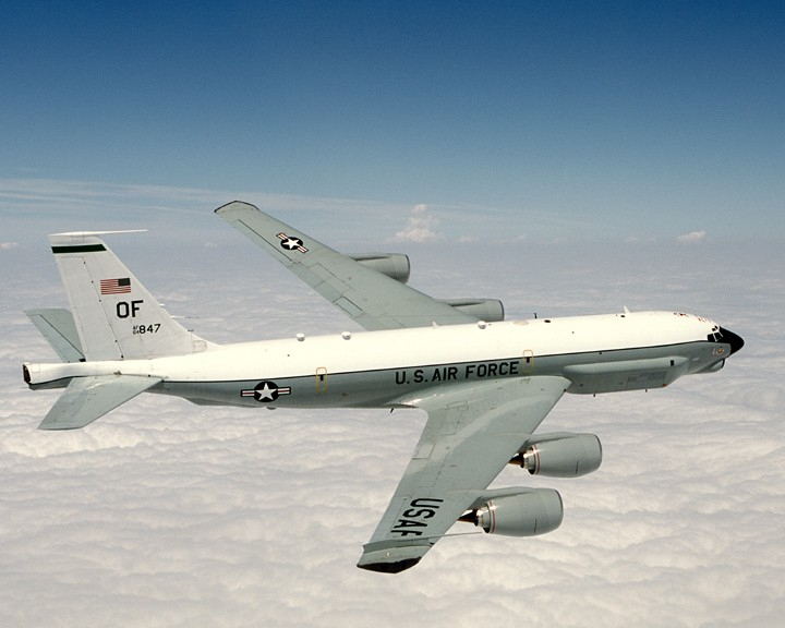 A USAF 'Combat Sent' reconnaissance aircraft (Wikicommons photo by Bburton)