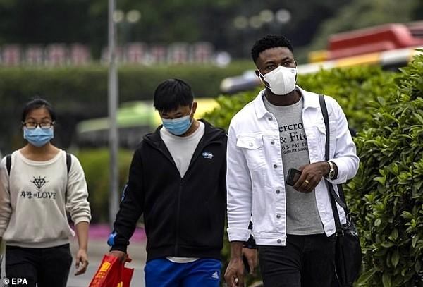 Africans in China reportedly being mistreated during coronavirus outbreak.