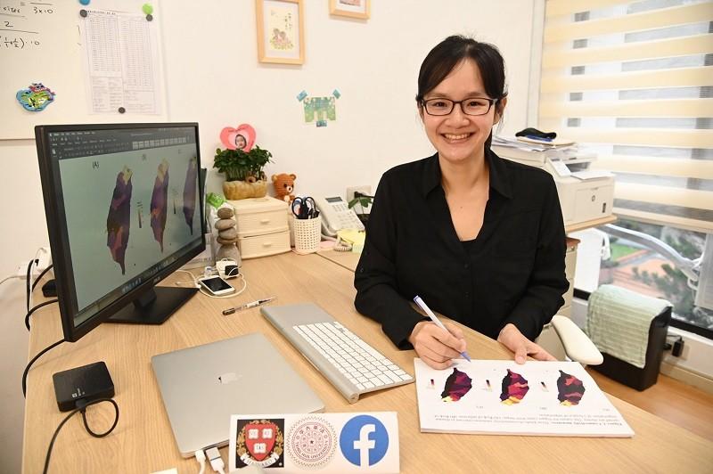 圖為清華大學生物資訊與結構生物研究所助理教授張筱涵。(清華大學提供)中央社