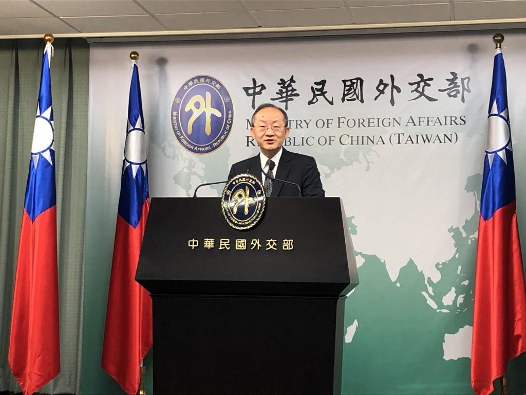 MOFADepartment of International Organizations head Bob Chen