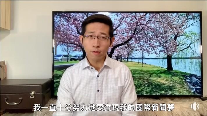 張經義於台灣時間18日晚間po出影片, 感謝大家關心 (圖/官方臉書)