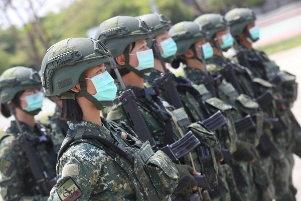 All military members required to wear masks for entire day.