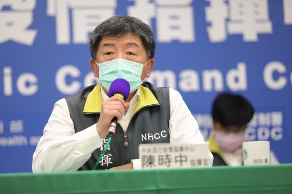 Health Minister and CECC head Chen Shih-chung.