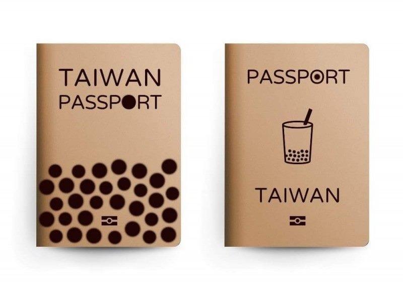 Milk tea passport design. (Cementcraft illustration)