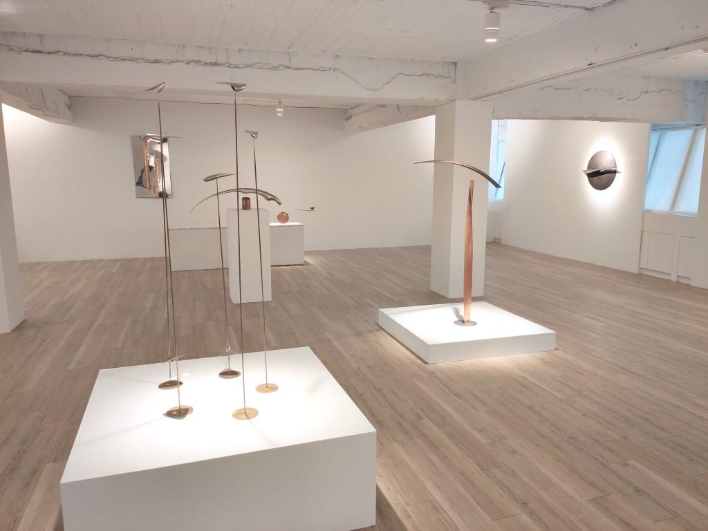 林定義個展將於25日起Bluerider Art畫廊仁愛館登場(圖/台灣英文新聞Lyla Liu)