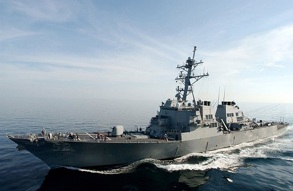 US destroyer transits Taiwan Strait for 2nd time in month   Taiwan News    2020/04/24