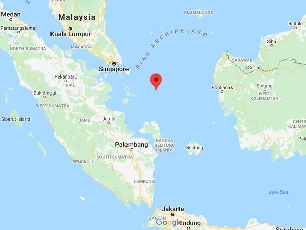 Google Map showing location MND revealed fleet had sailed. (Google Maps screenshot)