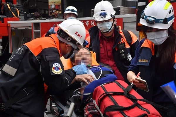 Several individuals injured from Taipei KTV fire Sunday morning.