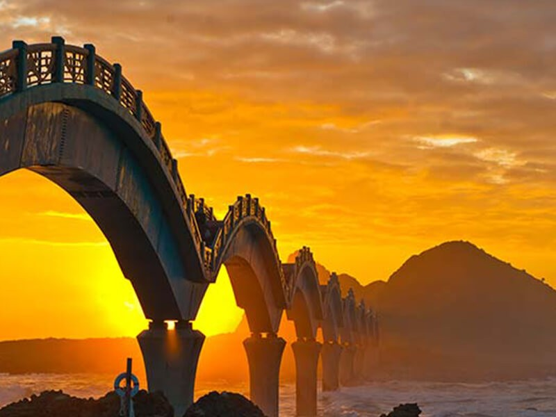 Sanxiantai Dragon Bridge. (Tour.taitung.gov.tw photo)