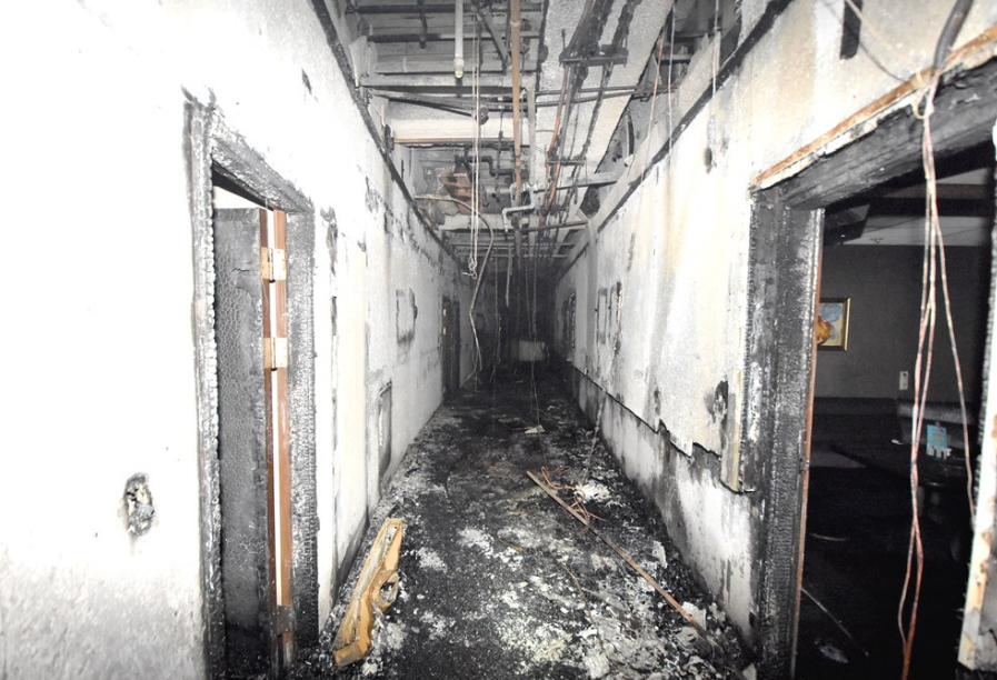 消防局表示,案發時自動警報系統均沒有正常運作(圖/台北市消防局提供)