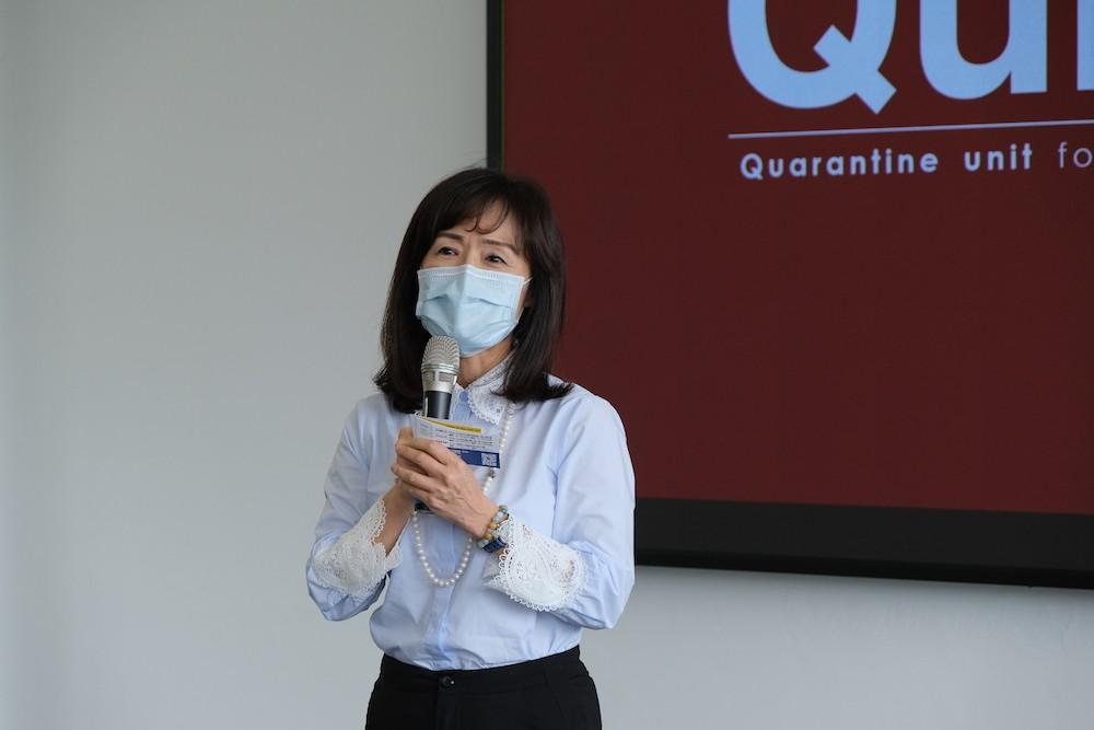 University in S. Taiwan develops island's first deployable coronavirus hospital