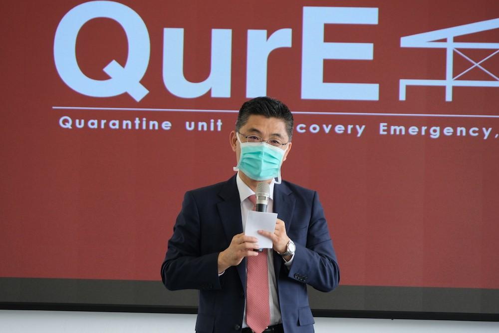 抗疫超前部署 成功大學研發負壓隔離檢疫醫院