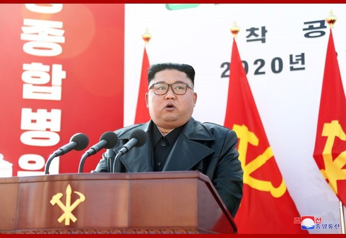 Kim Jong Un. (kcna.kp photo)