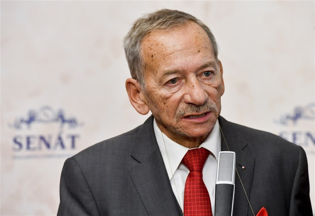 Late Czech Senate speaker Jaroslav Kubera