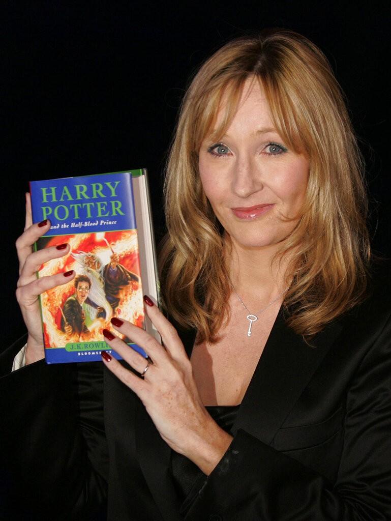 羅琳 (J.K. Rowling)。(照片來源:美聯社)