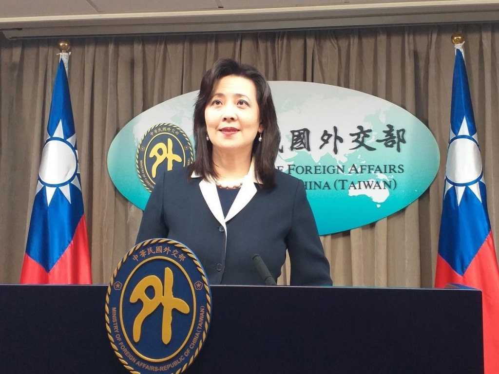 Ministry of Foreign Affairs Spokesperson Joanne Ou.