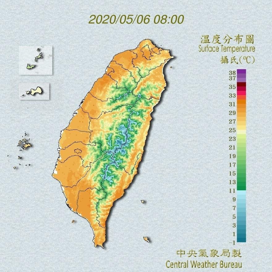 圖片由中央氣象局提供