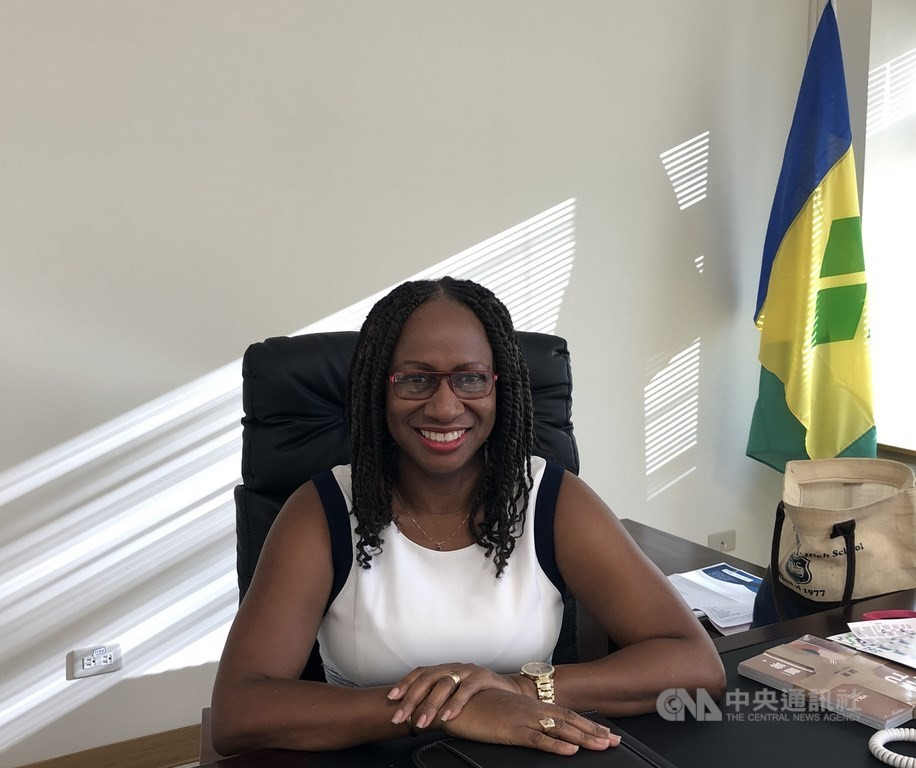 St. Vincent and the Grenadines Ambassador to Taiwan Andrea Bowman