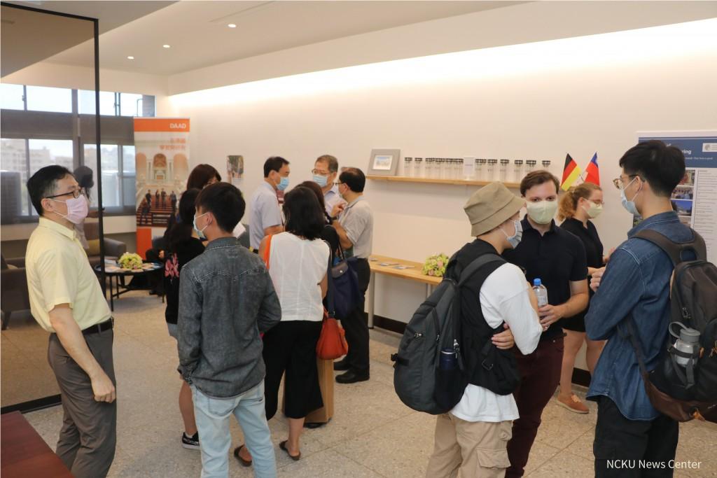 Taiwan's NCKU, German university mark 1 year of Asia office