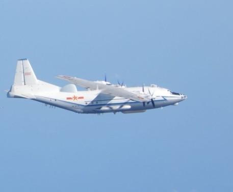 中共運-8型運輸機(照片來源:國防部/資料照片)