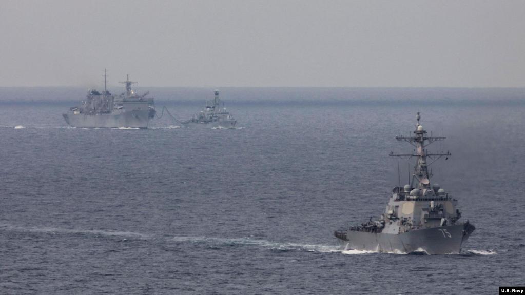 巴倫支海行動。(美國海軍照片)