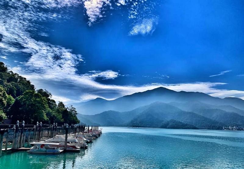 Sun Moon Lake in central Taiwan (Facebook, @time.for.taiwan photo)