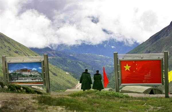 Indian and Chinese troops engaged in a cross-border fistfight on Saturday.