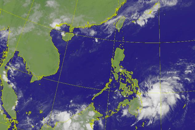 (CWB satellite map)
