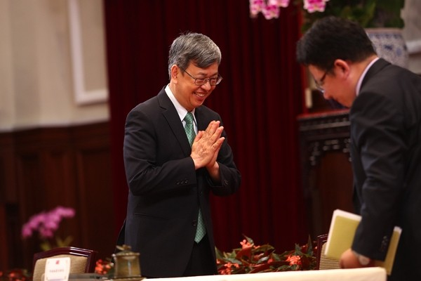Vice President Chen Chien-jen.