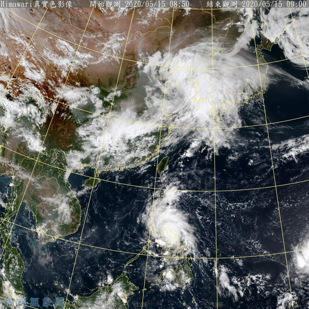 照片由中央氣象局提供
