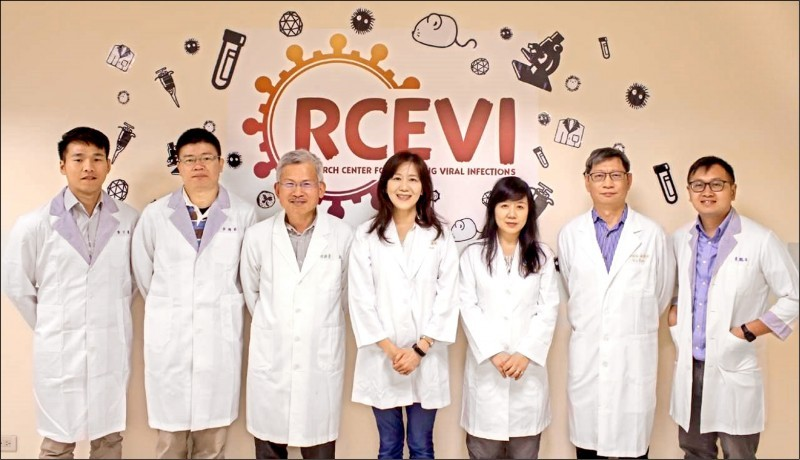 RCEVI scientists. (MOST photo)