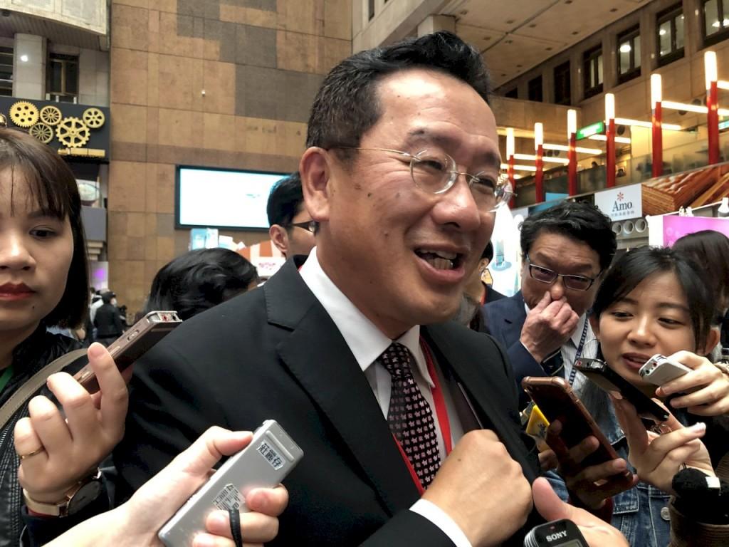 File photo of FSC Minister Wellington Koo