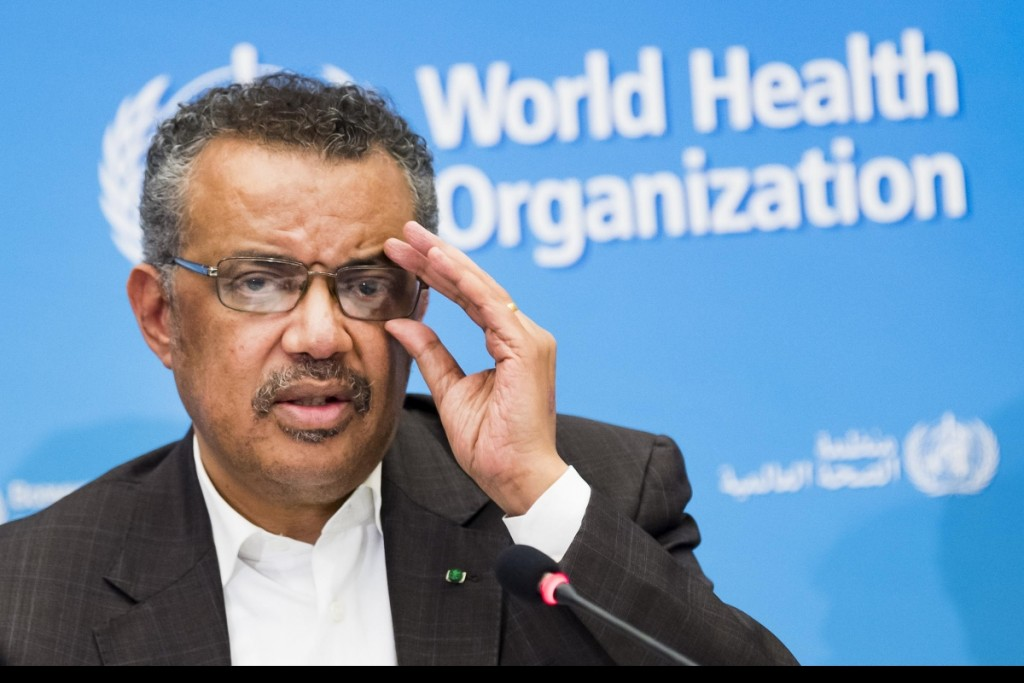 China reportedly sends letter toWHO Director-General Tedros Adhanom Ghebreyesus.