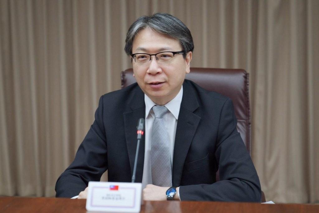 國安會副秘書長蔡明彥(照片來源:外交部提供)
