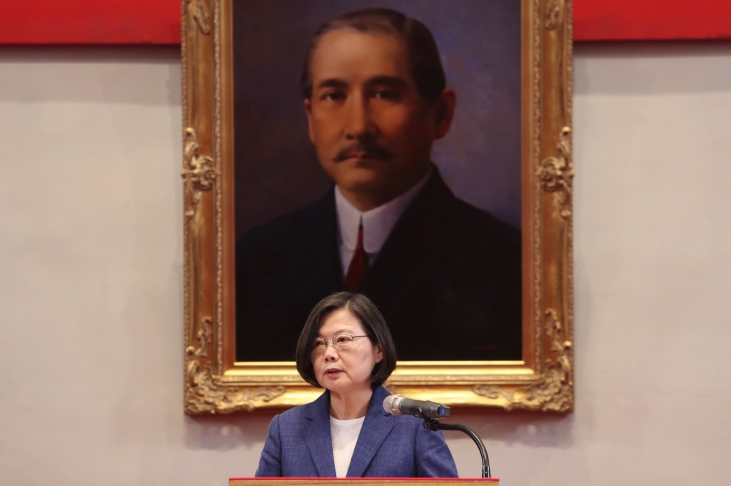 President Tsai Ing-wen faces new crisis in possible leak incident.
