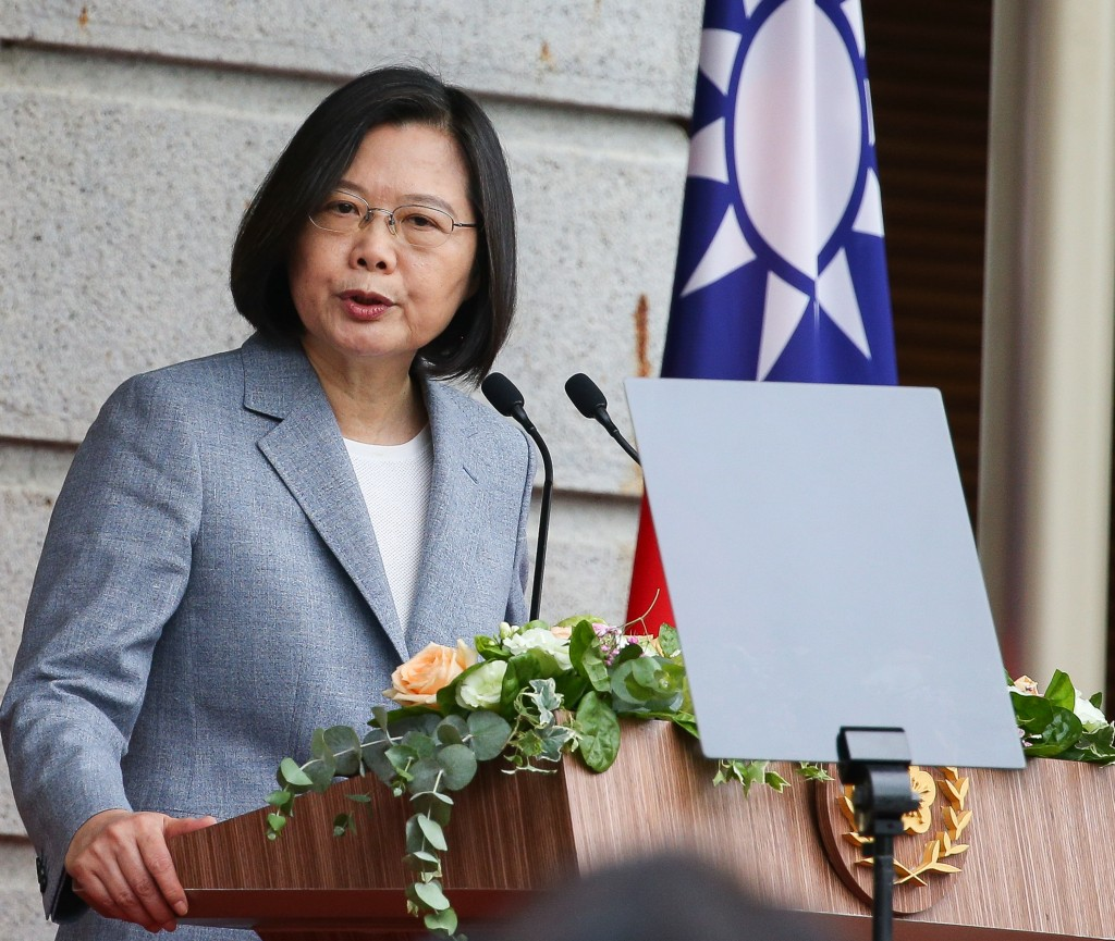 President Tsai Ing-wen officially began her second term on Wednesday (May 20).