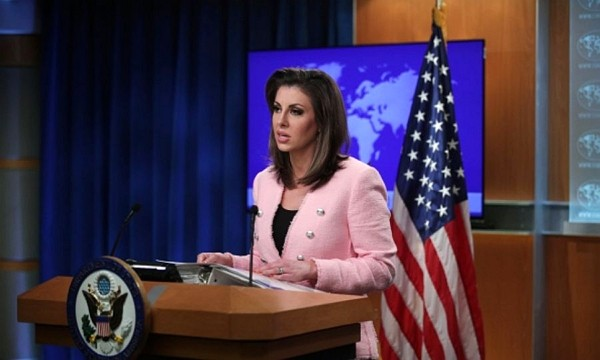 U.S. State Department Spokesperson Morgan Ortagus.
